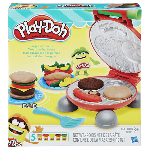 《 Play - Doh 培樂多》美味漢堡遊戲組