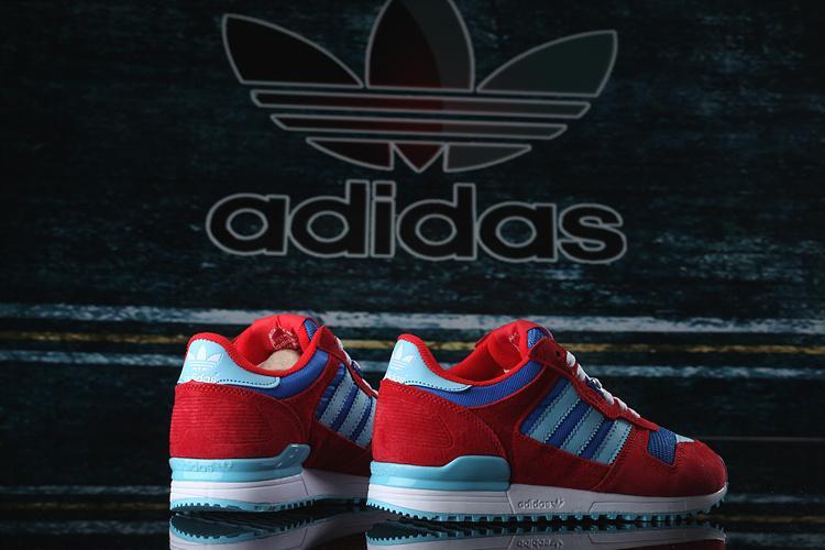 【adidas 】愛迪達 ADIDAS ZX 700 K   女慢跑鞋-B25616