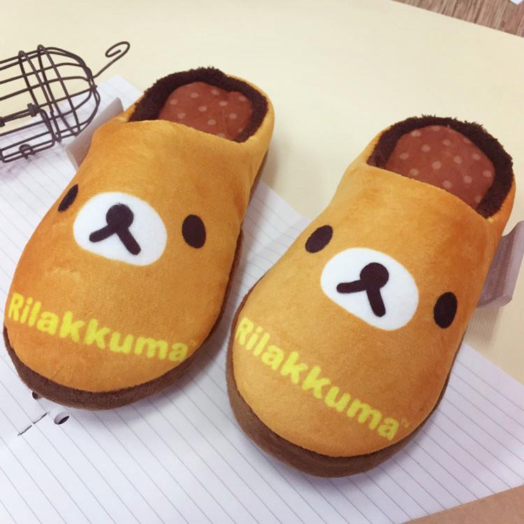 PGS7 (現貨+預購) 日本卡通系列商品 - 拉拉熊 絨毛 拖鞋 包頭鞋 鞋子 室內拖 拉拉雄 懶懶熊 鬆弛熊