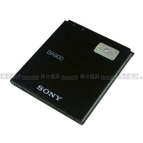 SONY BA900 原廠電池 Xperia TX LT29i,Xperia J ST26i,Xperia L S36h C2105,Xperia M C1905,Xperia E1 D2005
