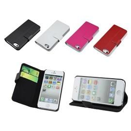 【真皮世家】iPhone 5 / iPhone 5S 側開 支架 超薄 真皮皮套