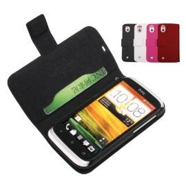 【真皮世家】HTC Desire U T327e 側開超薄真皮皮套