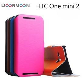【真皮世家】HTC One mini 2 (M8 mini) 側開支架超薄真皮皮套