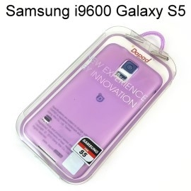 【Dapad】超薄磨砂背蓋 [紫] Samsung i9600 Galaxy S5 送專用螢幕保護貼
