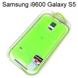 【Dapad】超薄磨砂背蓋 [螢光綠] Samsung i9600 Galaxy S5 送專用螢幕保護貼