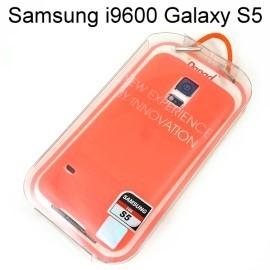 【Dapad】超薄磨砂背蓋 [螢光橘] Samsung i9600 Galaxy S5 送專用螢幕保護貼