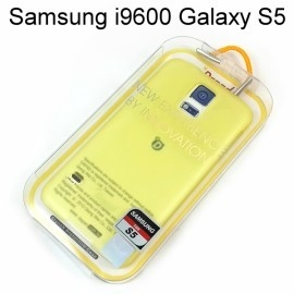 【Dapad】超薄磨砂背蓋 [黃] Samsung i9600 Galaxy S5 送專用螢幕保護貼