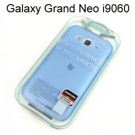 【Dapad】超薄磨砂背蓋 [藍] Samsung i9060 Galaxy Grand Neo 送專用螢幕保護貼