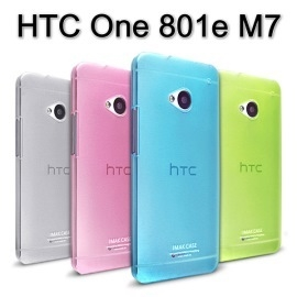 【IMAK】超薄0.7mm彩殼 HTC New One 801e M7