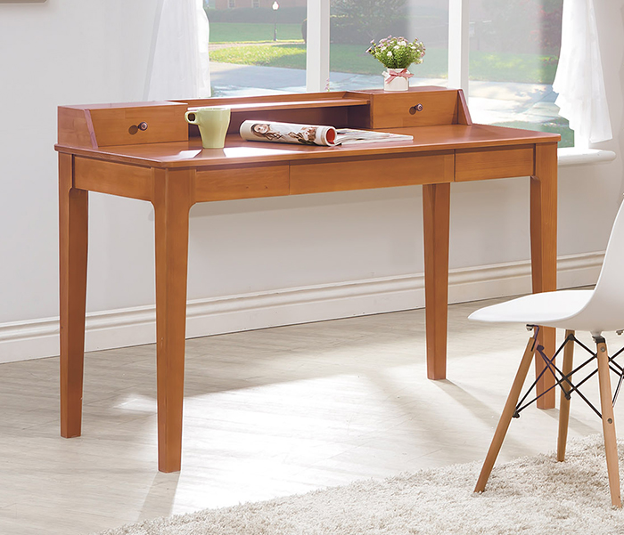 【尚品傢俱】HY-A466-01 文森原木全實木4尺書桌