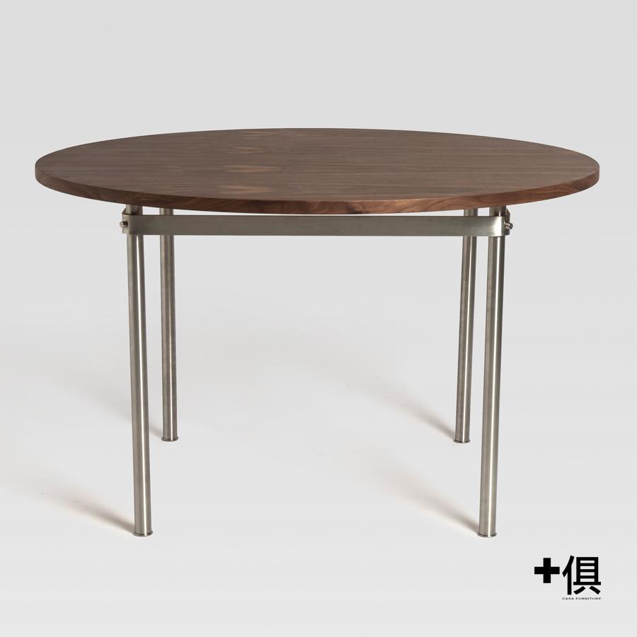 【+俱】【新品預告】EDIMASS 圓形餐桌 [DT9519]