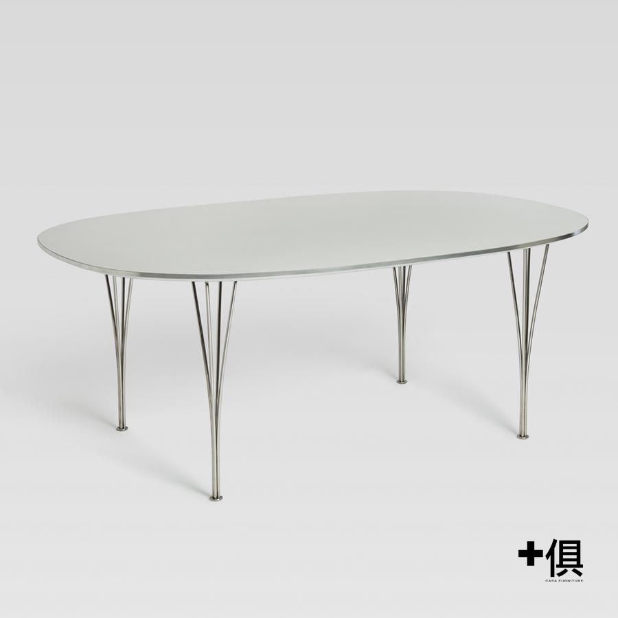 【+俱】【新品預告】EDIMASS 橢圓餐桌 [DT9538A/B]