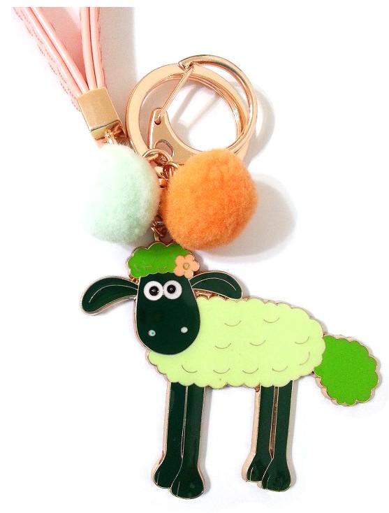 ☆SiSi 時尚派對☆ 韓國進口可愛綿羊 笑笑羊 吊飾 鑰匙圈