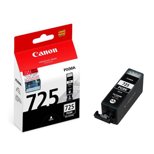 CANON PGI-725BK 原廠黑色墨水匣 PGI-725PGBK 適用 ix6560