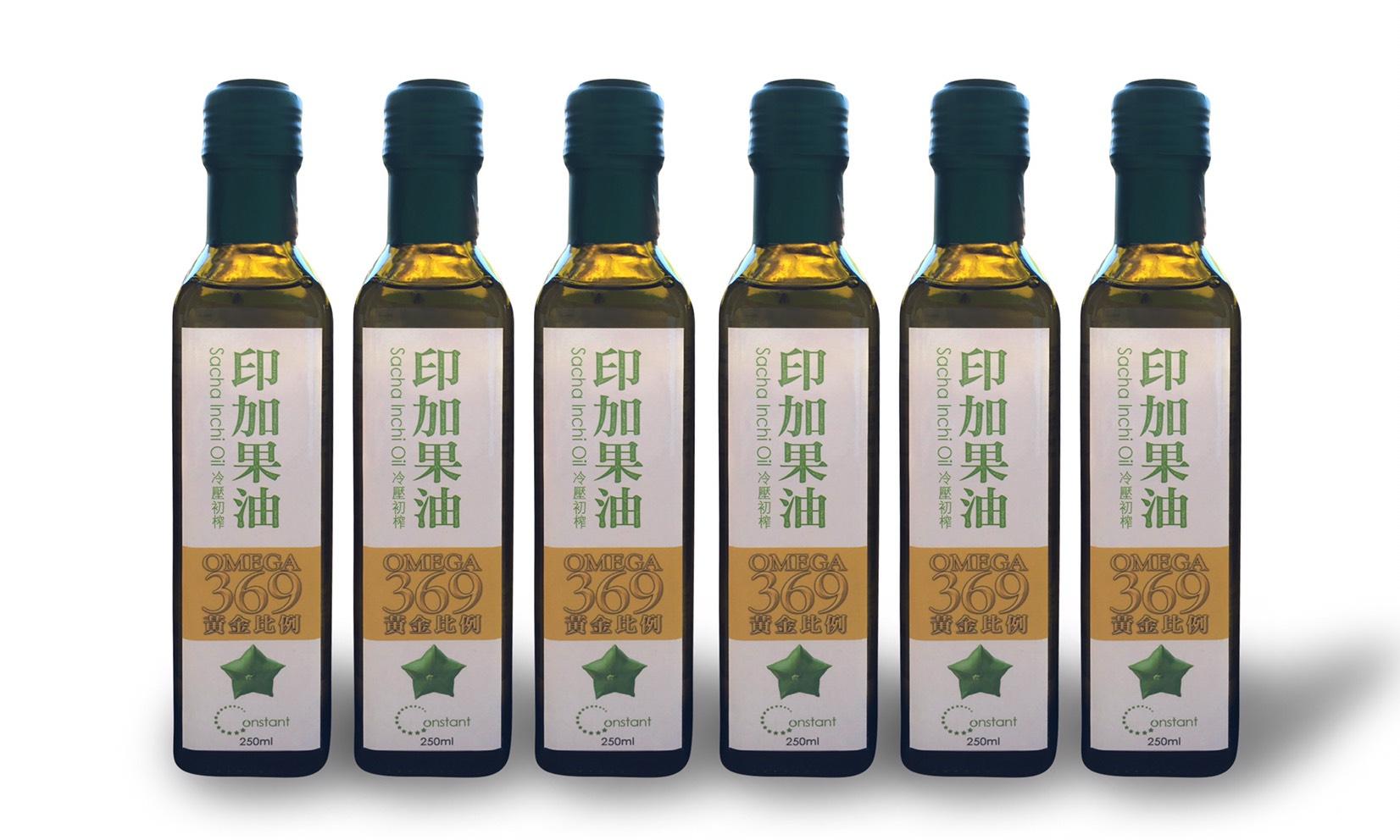 6瓶組 來自星星果的印加果油