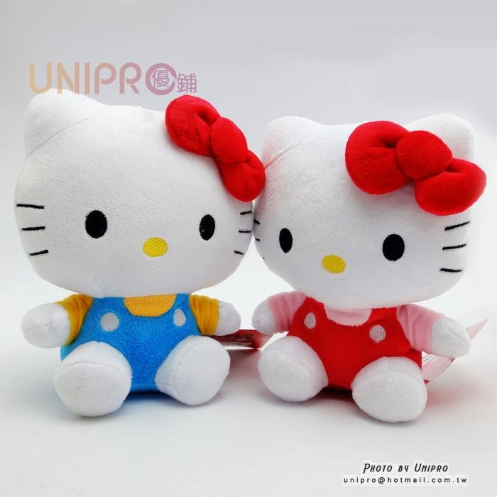 【UNIPRO】Hello Kitty 經典凱蒂貓娃娃 玩偶 吸盤玩偶 三麗鷗正版授權