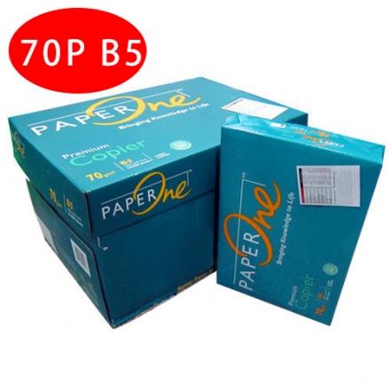 【PAPER ONE  影印紙】PAPER ONE 70P B5 影印紙 (10包/箱)