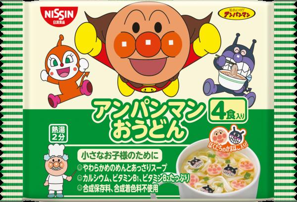 [即期良品]Nissin日清麵包超人馬克杯麵4入-烏龍麵 88g *賞味期限:2017/01/30*