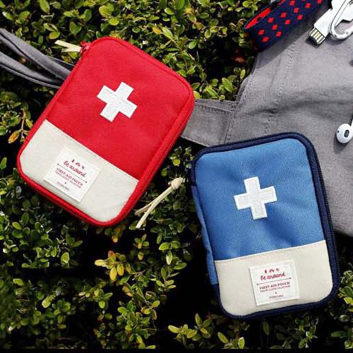 旅行袋 攜帶式急救包隨身藥品收納包【MJY001】 BOBI  12/01