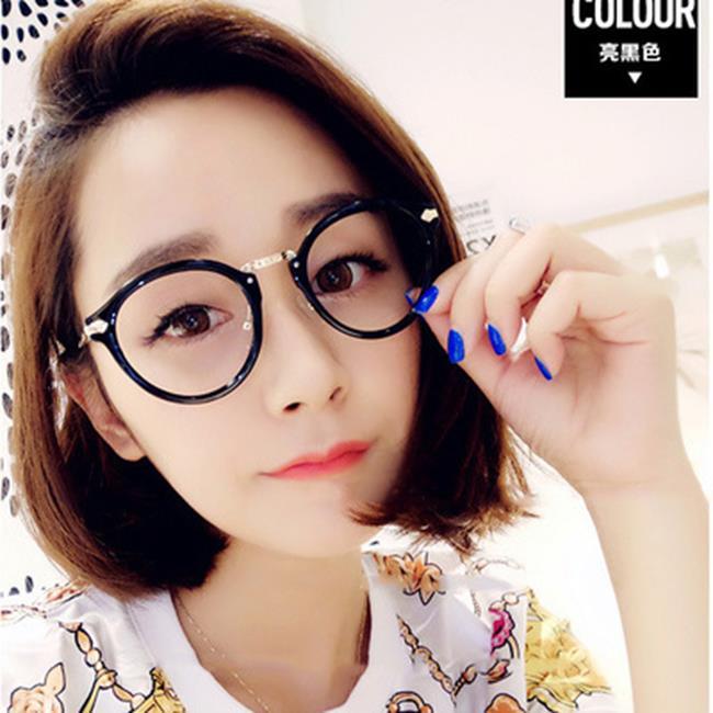 50%OFF【J020087GLS】復古韓版金秀賢眼鏡框2970金屬文藝框架鏡潮流平光鏡眼鏡架
