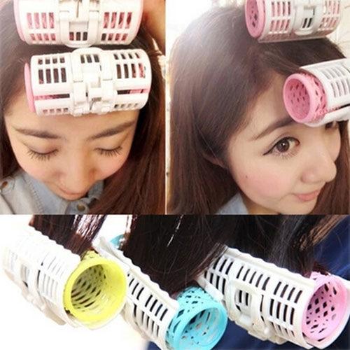 PS Mall 韓國空氣瀏海雙層髮捲夾 捲髮器  3入/組【H102】