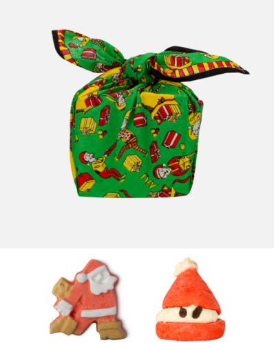 *Realhome* 英國手工香芬名牌 LUSH  限量聖誕泡澡球禮盒 空運新品到
