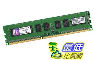 [玉山最低比價網] 金士頓記憶體DDR3 1600 4G純ECC伺服器記憶體條相容1333 KVR16E11/4G _yyl