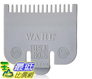 [美國直購] WAHL Color-coded Attachment Comb #1/2 理髮器週邊工具