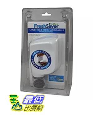 [美國直購] FoodSaver FSFRSH0051 掌上型真空保鮮機 FreshSaver Handheld Vacuum Sealing System, White