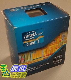 [美國直購] 盒裝新品含風扇 Intel Core i3-3220T Dual-Core Processor 2.8 Ghz  BX80637i33220