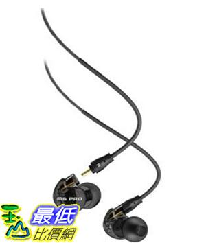 [美國直購] MEE audio M6 PRO 黑灰色 耳機 Universal-Fit Noise-Isolating Musician's In-Ear Monitors with Detachable Cables