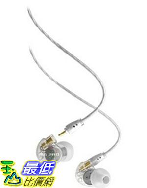 [美國直購] MEE audio M6 PRO 透明白 耳機 Universal-Fit Noise-Isolating Musician's In-Ear Monitors with Detachable Cables