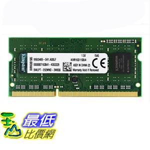 [玉山最低比價網] 金士頓記憶體條3代DDR3 1600 4G筆記本記憶體條 標準電壓1.5V相容1333 _yyl