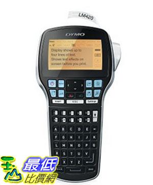 [美國直購] DYMO 1768815 標籤機 LabelManager 420P High Performance Rechargeable Portable Label Maker 適用 PC or Mac