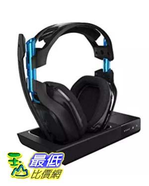 [美國直購] ASTRO Gaming A50 電競耳機 Dolby Gaming Headset Black/Blue PlayStation 4 + PC