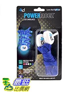 [美國直購] 4id Power Lacez LED發光鞋帶 粉紅綠藍三色 夜跑、夜騎、安全
