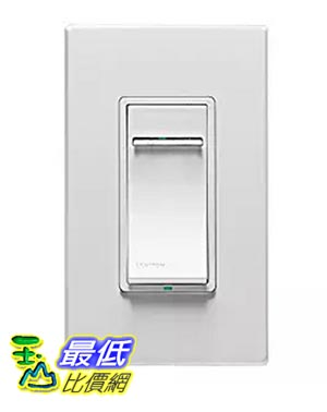 [美國直購] Leviton DZMX1-1BZ Decora Z-Wave Controls Scene Capable Universal Dimmer, White/Ivory/Light Almond, Works with Amazon Alexa