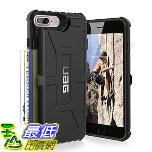 [美國直購] URBAN ARMOR GEAR 卡片式 手機殼 黑色 iphone7+ iPhone 7 Plus (5.5吋) UAG 保護殼 Phone Case