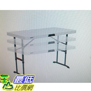 [COSCO代購 如果沒搶到鄭重道歉] Lifetime 4 呎 折疊桌 _W107880