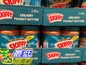 [105限時限量促銷] COSCO SKIPPY 花生醬(柔滑口味)1.36公斤X2瓶入 _C924629