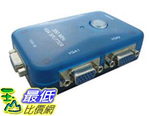 [玉山最低比價網] 350MHz 1920X1440 VGA Splitter 1對4/1進4出螢幕分配器