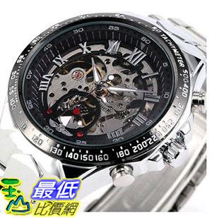 [105美國直購] BEST SELLING Russian Noble Sports Men's Automatic Mechanical Watch Metal Skeleton+BOX