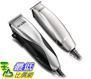 [美國直購] Andis 29115 理髮修容器 Promotor and Clipper and Trimmer Combo Kit, Silver