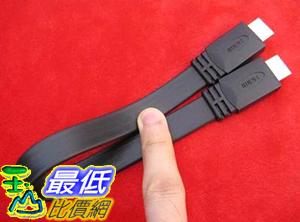 [玉山最低比價網] (HDMI扁平線 1.5M) HDMI 1.4 公頭 對 公頭 扁平線 1.5米
