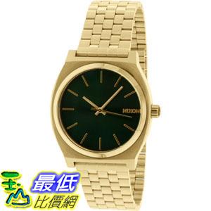 [105美國直購] Nixon Men's 男士手錶  Time Teller A0451919 Gold Stainless-Steel Quartz Watch