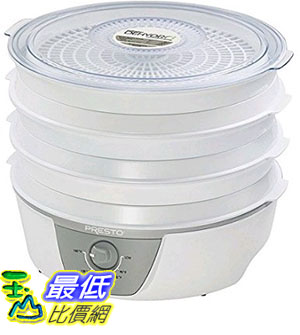 [美國直購] Presto 06302 Dehydro Electric Food Dehydrator with Adjustable Thermostat 食物乾燥機 (烘乾機 風乾機 除溼機 DIY零食)