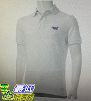 [COSCO代購 如果沒搶到鄭重道歉] Superdry 男短袖Polo衫 白/深藍/藍 _W1074990