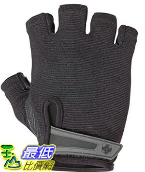 [美國直購] Harbinger Men's Power Weightlifting Gloves with StretchBack Mesh and Leather Palm (Pair)_TA2