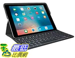 [美國直購] Logitech 920-008131 9.7吋 羅技 鍵盤保護殼 Create Backlit Keyboard Case with Smart Connector for iPad Pro