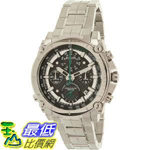 [105美國直購] Bulova Men's 男士手錶 Precisionist 96B241 Silver Stainless-Steel Quartz Watch